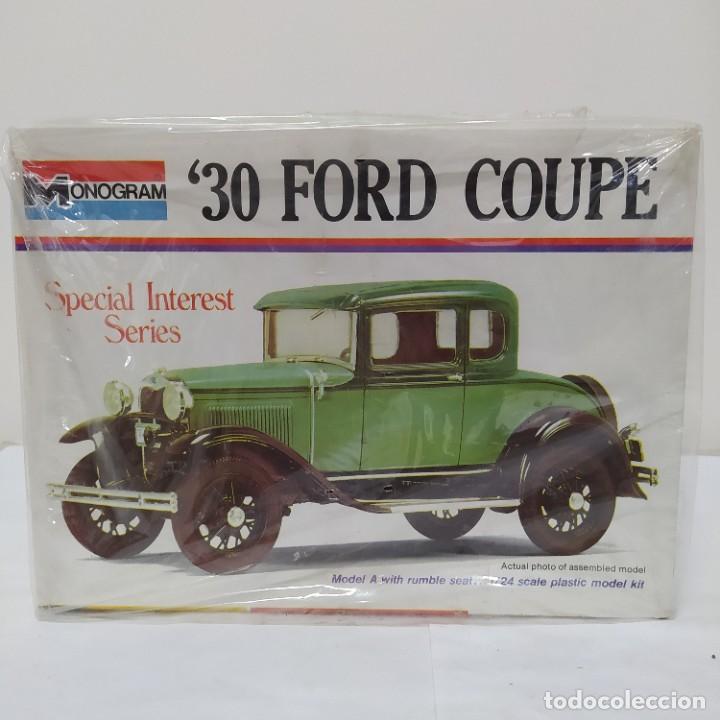 30 FORD COUPE 1/24 MONOGRAM. NUEVO (Juguetes - Modelismo y Radiocontrol - Maquetas - Coches y Motos)