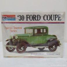Maquetas: 30 FORD COUPE 1/24 MONOGRAM. NUEVO. Lote 218523546