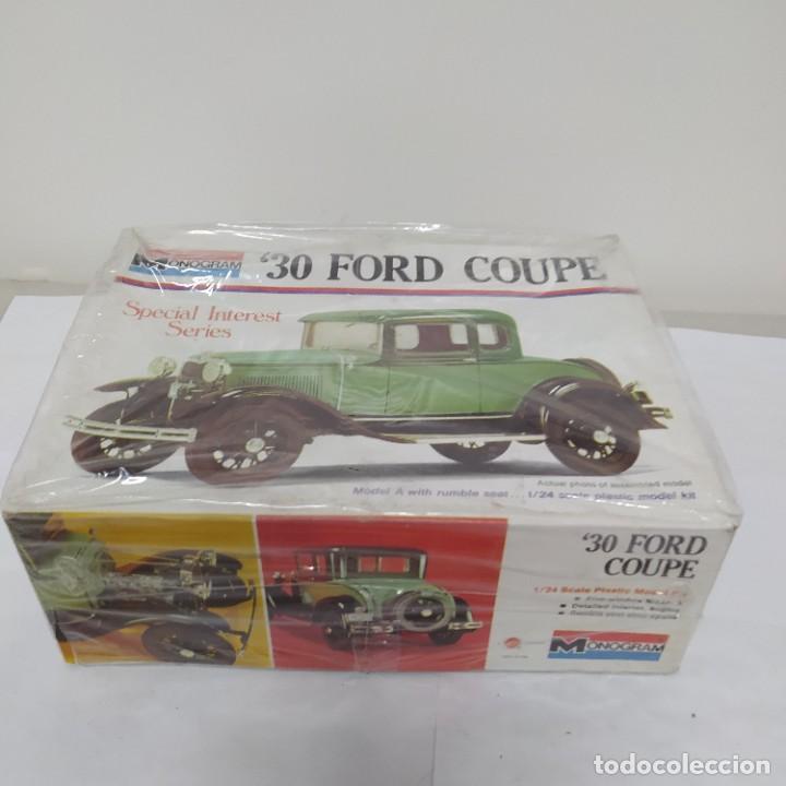 Maquetas: 30 Ford Coupe 1/24 Monogram. Nuevo - Foto 2 - 218523546