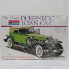 Maquetas: THE CLASSIC DUISENBERG TOWN CAR 1/24 MONOGRAM. NUEVO. Lote 218524532