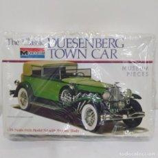 Maquetas: THE CLASSIC DUESENBERG TOWN CAR 1/24 MONOGRAM. NUEVO. Lote 218526038
