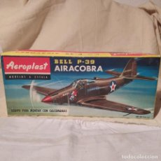 Maquetas: BELL P-39 AIRACOBRA DE AEROPLAST. NUEVO, SIN ABRIR. PRIMER MODELO.. Lote 218643448