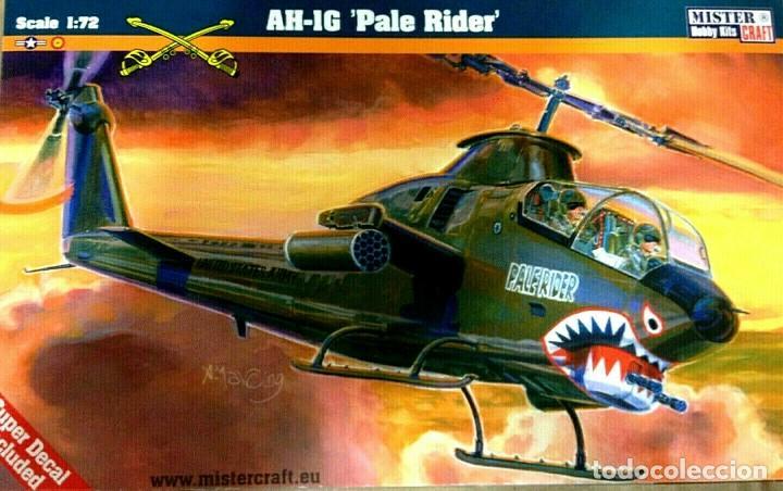 """MISTER CRAFT, 1/72 AH-IG """"PALE RIDER"""" IT.020026 (Juguetes - Modelismo y Radio Control - Maquetas - Aviones y Helicópteros)"""