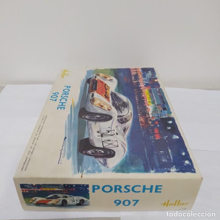 Maquetas: Porsche 907 escala 1/24 Heller. Nuevo, bolsa sin abrir - Foto 2 - 218666965