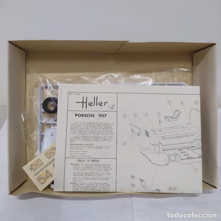 Maquetas: Porsche 907 escala 1/24 Heller. Nuevo, bolsa sin abrir - Foto 3 - 218666965
