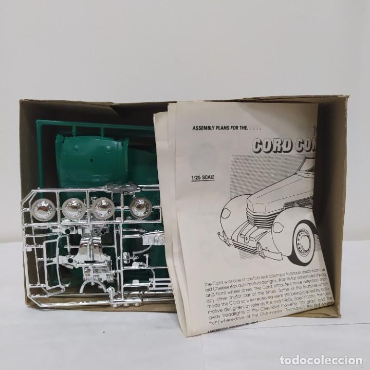 Maquetas: Classic Cord convertible escala 1/25 Lindberg Nuevo. - Foto 2 - 218669010