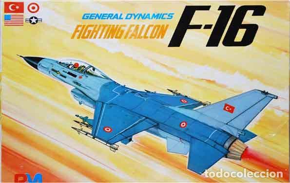 MAQUETA DEL CAZA GENERAL DYNAMICS F-16A FIGHTING FALCON DE PM MODEL A 1/72 (OCASIÓN) (Juguetes - Modelismo y Radio Control - Maquetas - Aviones y Helicópteros)
