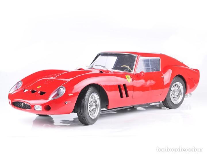 FERRARI 250 GTO (1962) A ESCALA 1:8 NO POCHER, EN RESINA (Juguetes - Modelismo y Radiocontrol - Maquetas - Coches y Motos)