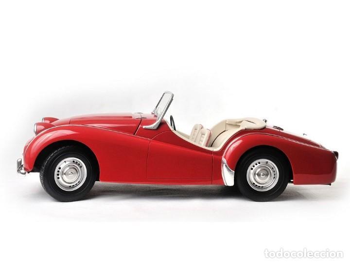Maquetas: Triumph TR3 de 1960 a escala 1:8 NO pocher, altaya, monogram. Hecho a mano en resina. - Foto 2 - 218676682