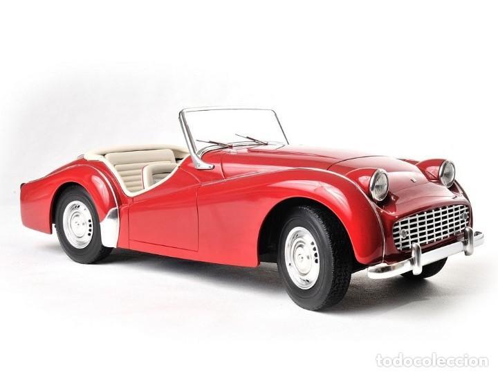 Maquetas: Triumph TR3 de 1960 a escala 1:8 NO pocher, altaya, monogram. Hecho a mano en resina. - Foto 3 - 218676682