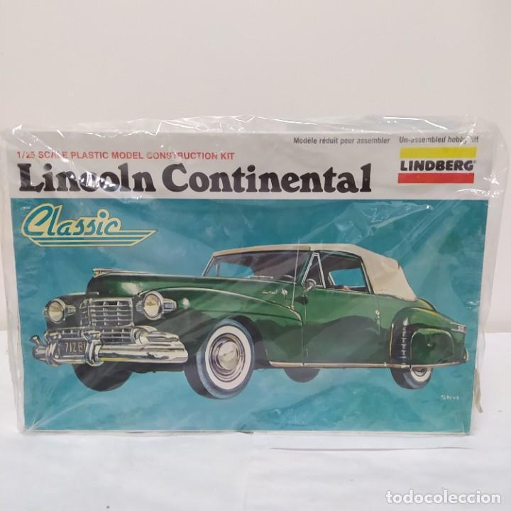 CLASSIC LINCOLN CONTINENTAL ESCALA 1/25 LINDBERG NUEVO. (Juguetes - Modelismo y Radiocontrol - Maquetas - Coches y Motos)