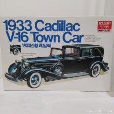 Maquetas: 1933 CADILLAC V-16 TOWN CAR ESCALA 1/16 MINICRAFT NUEVO. Lote 218693596