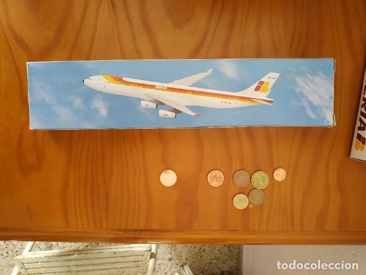 LINEAS AEREAS ESPAÑOLAS IBERIA - MAQUETA MODELO AIRBUS A340 (Juguetes - Modelismo y Radio Control - Maquetas - Aviones y Helicópteros)