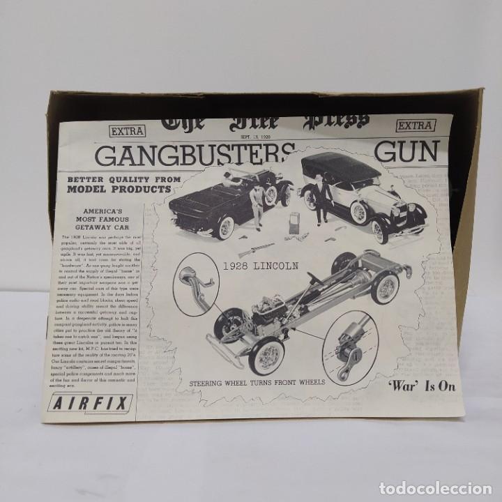 Maquetas: GangBusters 28 Lincoln Sport touring by Locke 1/25 Airfix/Mpc. Año 1965. Sin montar, nuevo. - Foto 2 - 218730855