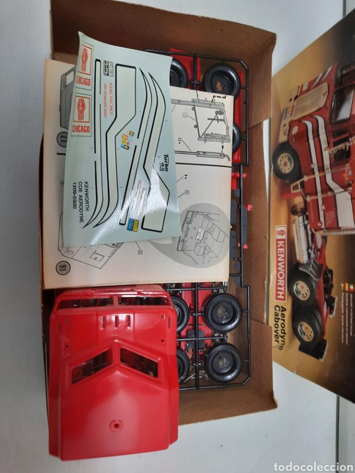 Maquetas: MONOGRAM KENWORTH , CABEZA CAMION TRACTORA TRAILER (MUY DIFICIL DE CONSEGUIR )AÑOS 80 - Foto 6 - 218774640