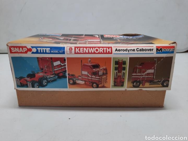 Maquetas: MONOGRAM KENWORTH , CABEZA CAMION TRACTORA TRAILER (MUY DIFICIL DE CONSEGUIR )AÑOS 80 - Foto 7 - 218774640