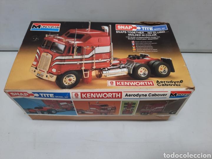 Maquetas: MONOGRAM KENWORTH , CABEZA CAMION TRACTORA TRAILER (MUY DIFICIL DE CONSEGUIR )AÑOS 80 - Foto 11 - 218774640