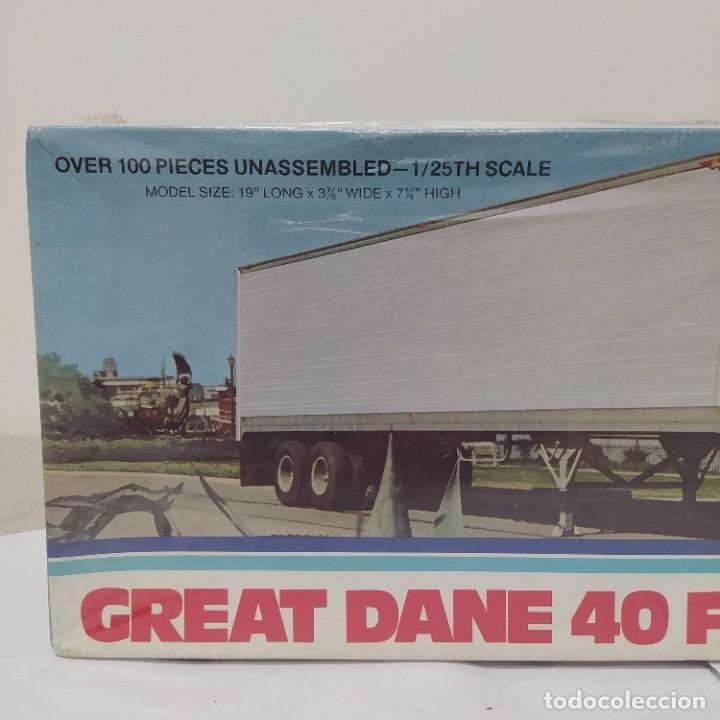 Maquetas: Great Dane 40 ft. Dry Goods trailer ERTL 1/25. Precintado sin abrir - Foto 4 - 286417213