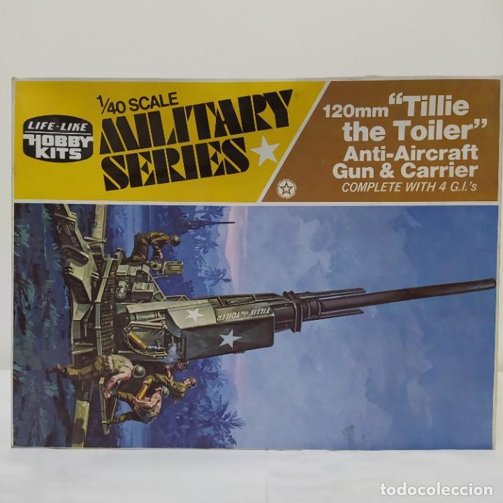 120MM TILLIE THE TOILER ANTI-AIRCRAFT GUN & CARRIER. NUEVA (Juguetes - Modelismo y Radiocontrol - Maquetas - Militar)
