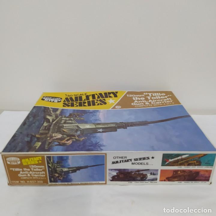 Maquetas: 120mm tillie the toiler anti-aircraft gun & carrier. Nueva - Foto 3 - 219177598