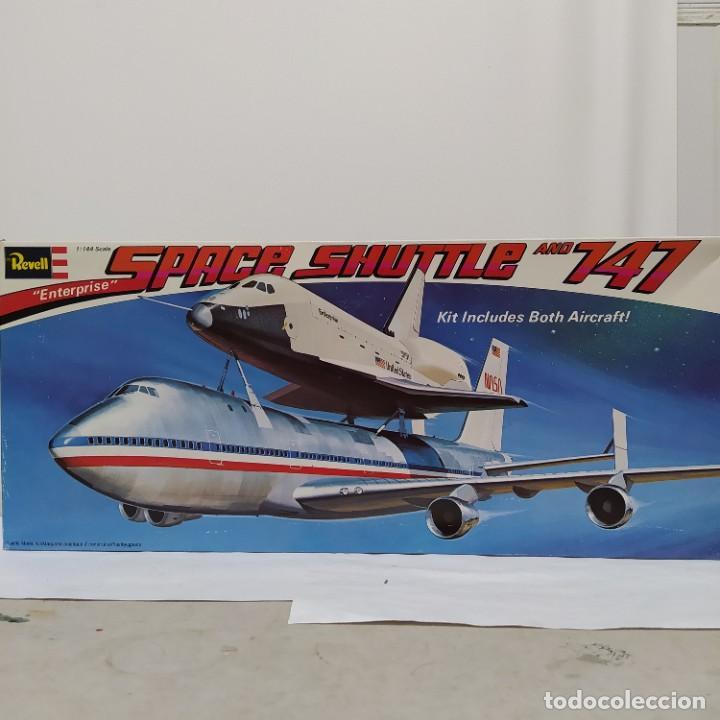 ENTERPRISE SPACE SHUTTLE AND 747 REVELL 1/144. SIN ABRIR (Juguetes - Modelismo y Radio Control - Maquetas - Aviones y Helicópteros)
