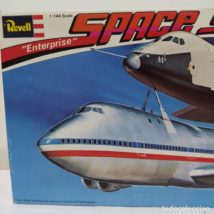 Maquetas: Enterprise Space shuttle and 747 Revell 1/144. Sin abrir - Foto 2 - 219200567
