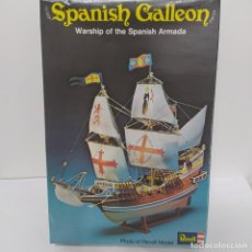 Maquetas: SPANISH GALLEON WARSHIP OF THE SPANISH ARMADA REVELL. NUEVO Y COMPLETO. Lote 219220477