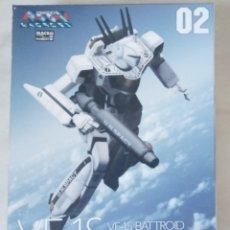 Macchiette: VF-1S -SUPER VALKYRIES-BATTROID ROY FOCKKER SPECIAL 1/100-KIT CONSTRUCTION-PLASTICA-WARE- MACROSS-. Lote 219243648
