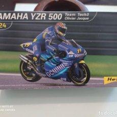 Maquetas: MAQUETA MOTO HELLER 1/24 YAMAHA YZR 500. Lote 219301037