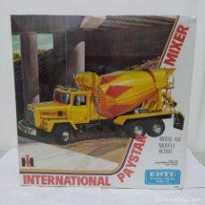 Maquetas: INTERNATIONAL PAYSTAR MIXER ERTL 1/25. CAJA PRECINTADA. Lote 219316445