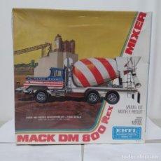 Maquetas: MACK DM 800 REX MIXER ERTL 1/25. CAJA PRECINTADA. Lote 219318650