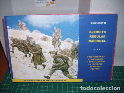 BUM 1/72 GUERRA CIVIL / EJERCITO REGULAR NACIONAL, SPANISH CIVIL WAR (Juguetes - Modelismo y Radiocontrol - Maquetas - Militar)