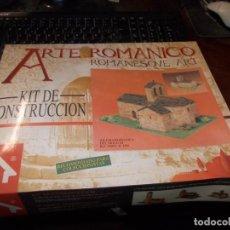 Macchiette: KIT DE CONSTRUCCIÓN ARTE ROMÁNICO IGLESIA ROMÁNICA SIGLO XI, REF. 40075 E: 1/50, PRECINTADO, CAJA CO. Lote 219637570