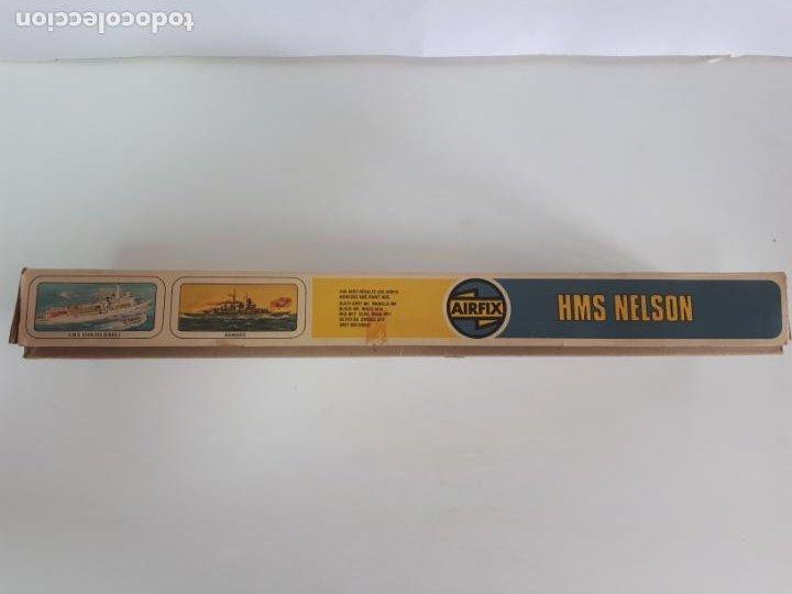 Maquetas: MAQUETA ACORAZADO INGLÉS HMS NELSON ESCALA 600 AIRFIX N 04203-9 BUQUE IIWW BÉLICA NAVAL INCOMPLETA - Foto 4 - 219860551