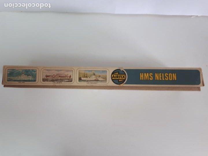 Maquetas: MAQUETA ACORAZADO INGLÉS HMS NELSON ESCALA 600 AIRFIX N 04203-9 BUQUE IIWW BÉLICA NAVAL INCOMPLETA - Foto 5 - 219860551