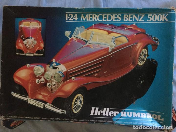 MAQUETA MERCEDES BENZ 500K (Juguetes - Modelismo y Radiocontrol - Maquetas - Coches y Motos)