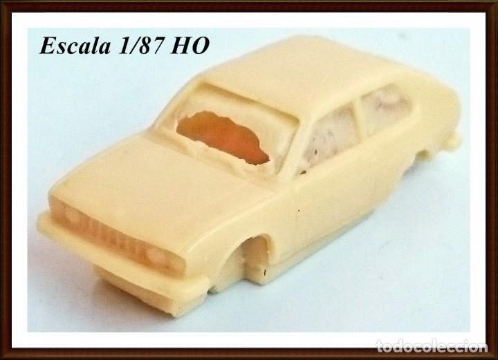 KIT RESINA RPM 87 - SEAT O FIAT 128 DE 1973 - OBSOLETO (Juguetes - Modelismo y Radiocontrol - Maquetas - Coches y Motos)