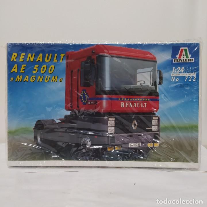 RENAULT AE 500 MAGNUM ITALERI 1/24. NUEVO Y COMPLETO. (Juguetes - Modelismo y Radiocontrol - Maquetas - Coches y Motos)