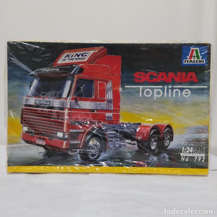 SCANIA TOPLINE ITALERI 1/24. NUEVO Y COMPLETO. (Juguetes - Modelismo y Radiocontrol - Maquetas - Coches y Motos)
