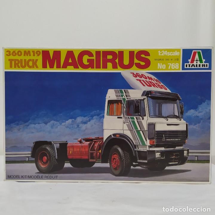 360 M19 TRUCK MAGIRUS ITALERI 1/24. NUEVO Y COMPLETO. (Juguetes - Modelismo y Radiocontrol - Maquetas - Coches y Motos)
