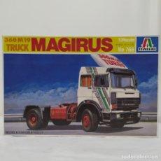 Maquetas: 360 M19 TRUCK MAGIRUS ITALERI 1/24. NUEVO Y COMPLETO.. Lote 220400468
