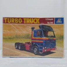 Maquetas: TURBO TRUCK ITALERI 1/24. NUEVO Y COMPLETO.. Lote 220404847