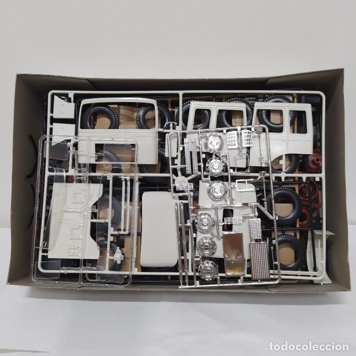 Maquetas: Man 6x4 formula 6 italeri 1/24. Nuevo y completo. - Foto 3 - 220407997