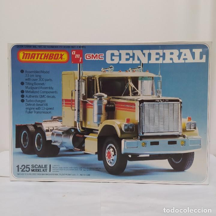 GMC GENERAL 1/25 AMT/ MATCHBOX. NUEVO Y COMPLETO. (Juguetes - Modelismo y Radiocontrol - Maquetas - Coches y Motos)