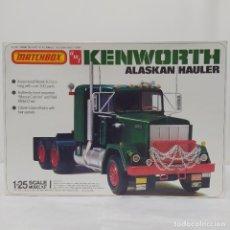 Maquetas: KENWORTH ALASKAN HAULER 1/25 AMT/ MATCHBOX. NUEVO Y COMPLETO.. Lote 220416806