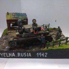 Maquetas: DIORAMA MILITAR MAQUETA -YELNIA-RUSIA 1942. Lote 220481543
