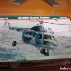 Maquetas: MAQUETA DE HELICÓPTERO MI-2RM MARINA DE MEXICO ESCALA 1/72. Lote 220607916