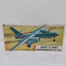 Maquetas: ILYUSHIN IL 28 AIRFIX SCALE 1/72. 1968. NUEVO Y COMPLETO. Lote 220883853