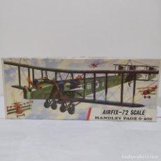 Maquetas: HANDLEY PAGE 0-400 AIRFIX SCALE 1/72. 1968. NUEVO Y COMPLETO. Lote 220884808