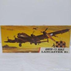 Maquetas: LANCASTER B1 AIRFIX SCALE 1/72.1968. NUEVO Y COMPLETO. Lote 220976322